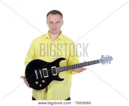 Young Man With A Guitar.