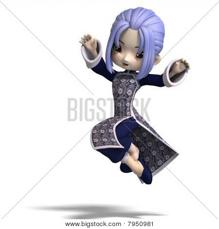 charming china cartoon figure in