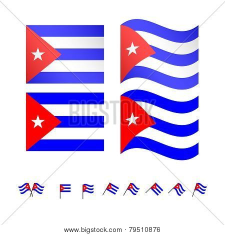 Cuba Flags