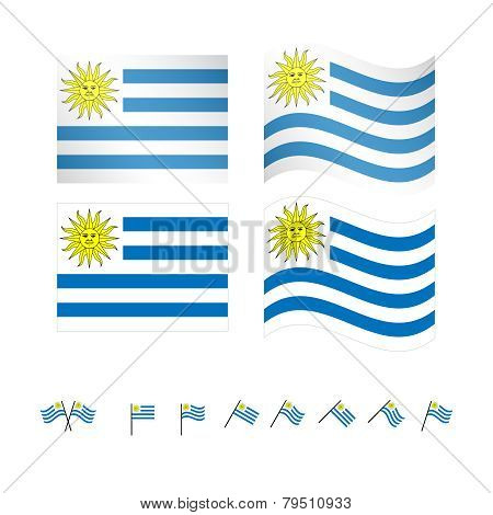 Uruguay Flags