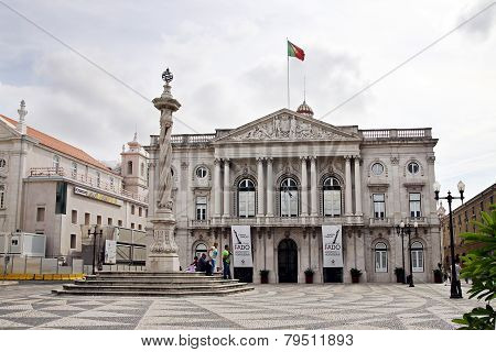Municipality  Lisbon And Pillory