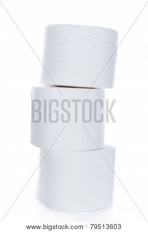 Toilet Paper (over White)