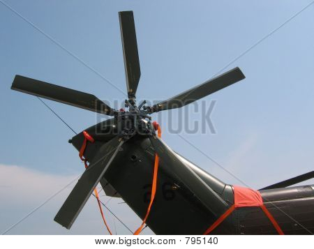 Aircraft - tail wings (rotorblades)