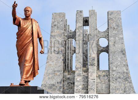 Kwame Nkrumah Memorial Park Monument