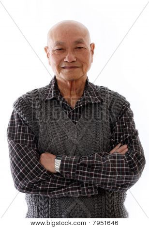 Elderly Asian Man
