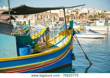 Marsaxlokk village, Malta