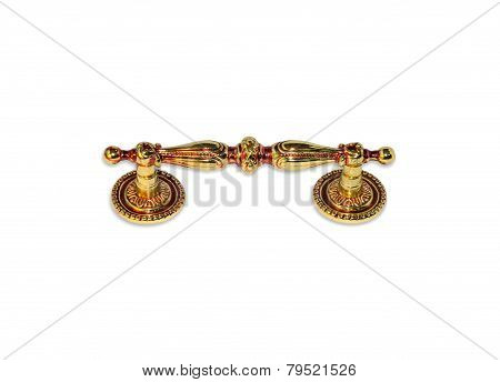 Gold Classic Door Knocker