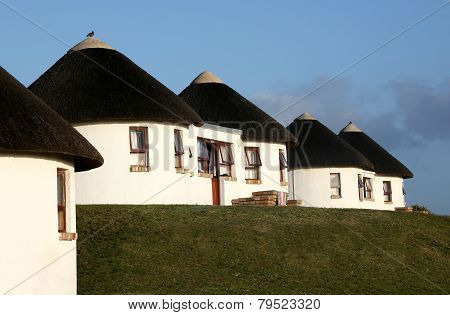 Holiday Houses With Thatched Roof