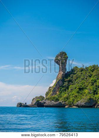 The Chicken island in Krabi Thailand