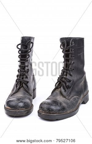 Pair Of Dirty Boots