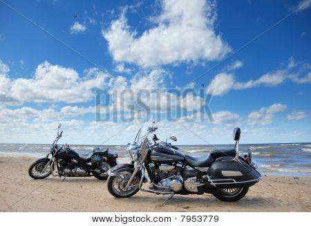 Beach and bikes