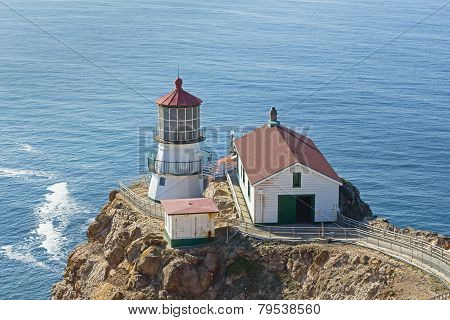 Pont Reyes Lighthouse In Ca