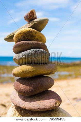 Simplicity in Inspiration Zen Pebbles