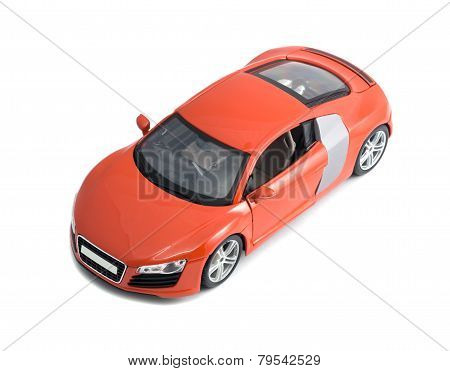 Red Model Sport Car Audi R8