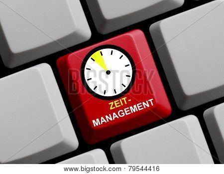 Computer Keyboard time management