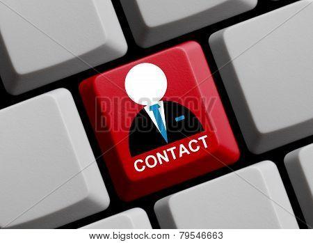 Computer Keyboard contact