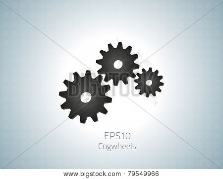 Cogwheels for your design. Fully vector, enjoy!