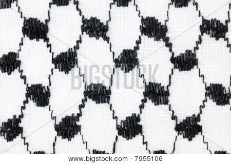 Texture Of Muslim Scarf