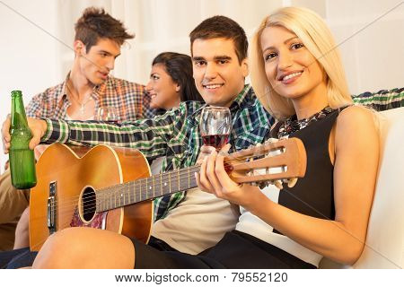 Hanging Out With Acoustic Guitar