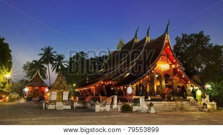 Wat Xieng Thong Temple Luang Prabang, Laos