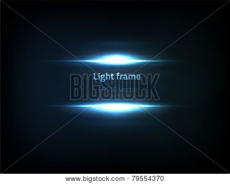 EPS10 vector light frame