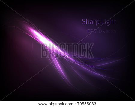 EPS10 vector sharp light