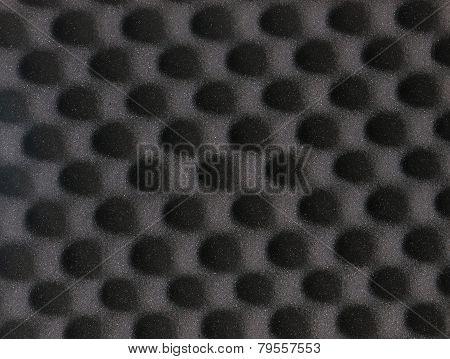 Eggshell Grey Foam Square Background