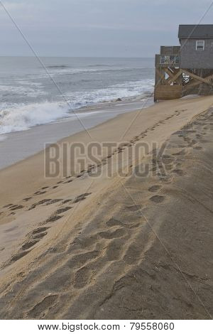 Outer Banks Ocean Sand Bank Barrier
