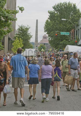 Asheville Bele Chere Summer Street Festival 2013