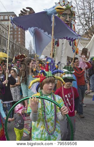 Mard Gras In Asheville
