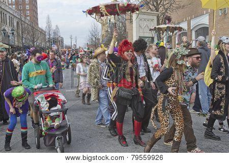 Mardi Gras Parade Strut