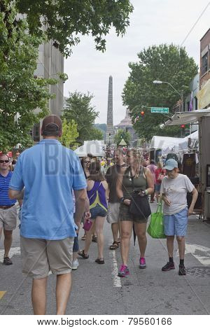 2013 Bele Chere Festival In Downtown Asheville