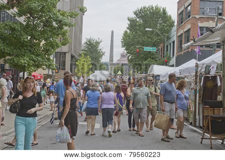 Asheville Bele Chere Festival Of 2013