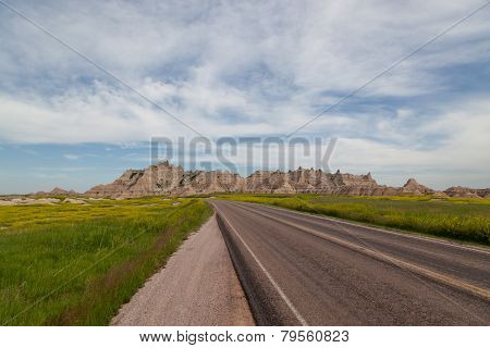 Road Through The Badlands