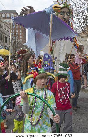 Mardi Gras Foolery