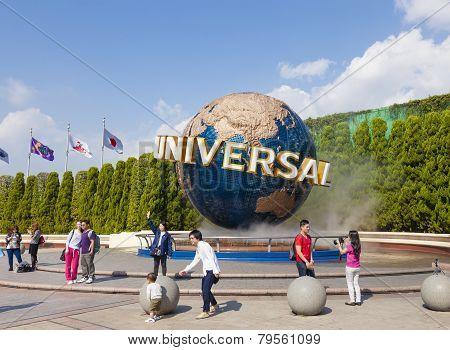 Universal Studios In Osaka, Japan
