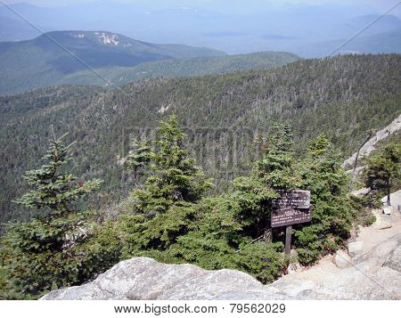 View from Mt Chocorua
