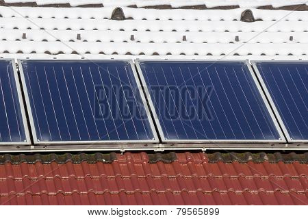 Roof With Solar Panel
