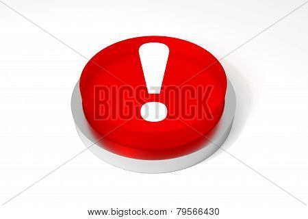 Big Round Button Exclamation Mark