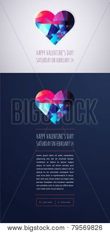 Happy Valentine's Day Posters