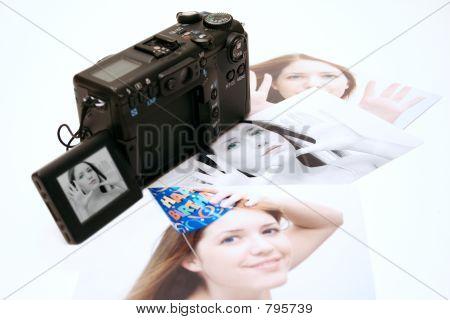Câmera digital 4