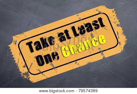 Take a Chance