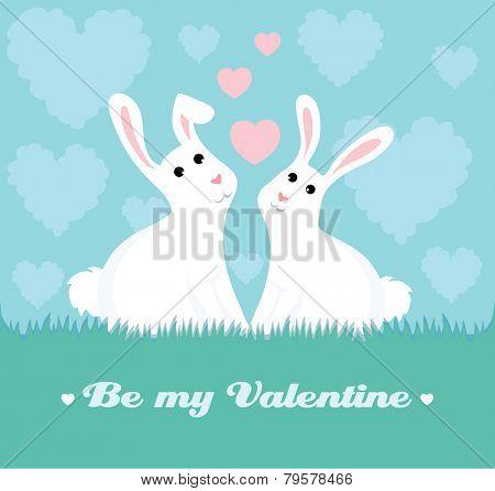 Loving bunnies