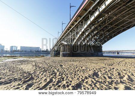 Poniatowski Bridge In Warsaw
