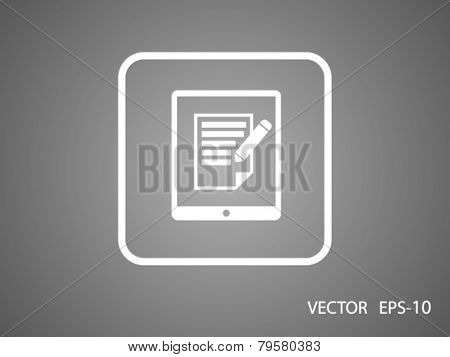 touchpad notes icon