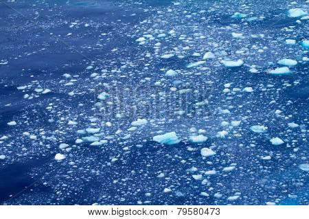 Arctic Iceberg Thawed. Area Novaya Zemlya