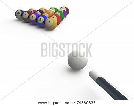 Billiard Start