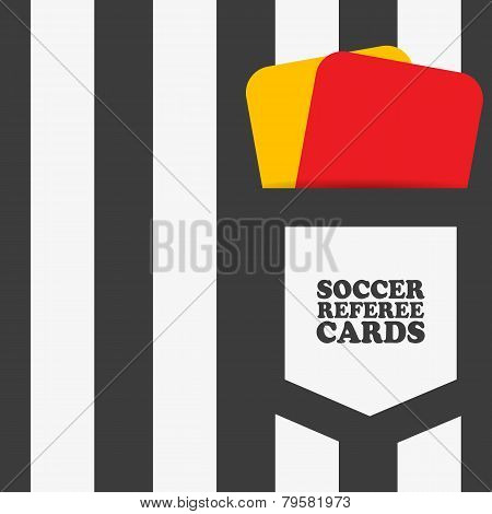 Football soccer referee