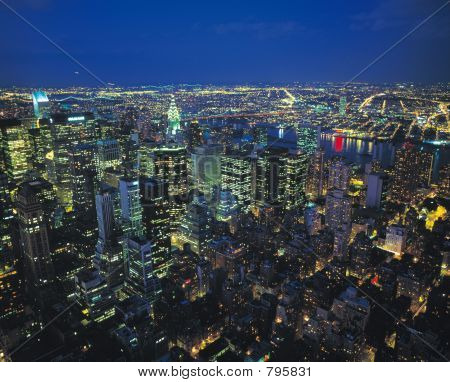 poster of Night View of City