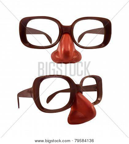 Funny glasses.
